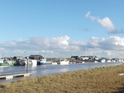 Sunny afternoon at Southwold Harbour