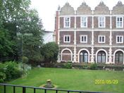 A view from Holland Park Youth Hostel