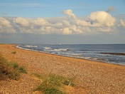 Southwold from Sizewell beach
