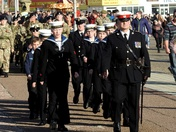 Rememberance Sunday Lowestoft