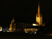 PROJECT 52, AFTER DARK. NORWICH CATHEDRAL