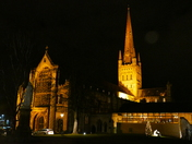 PROJECT 52, AFTER DARK, NORWICH CATHEDRAL