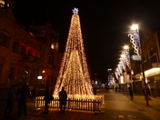 Christmas Lighting in Ilford High Road