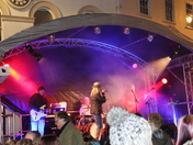 stowmarket christmas light switch on