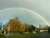 Rainbow in Grundisburgh