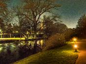 Reflective Riverside Walk