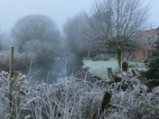 PROJECT 52, FROST, FROSTY MORNING ALONG THE RIVER