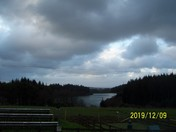 A view of Wistlandpound Reservoir from Calvert Trust.