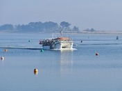 FISHING BOAT RETURNING TO HARBOUR AT WELLS