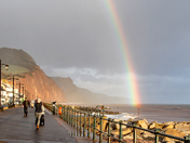 Rainbow in Sidmouth today