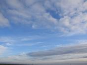 Skies over Lowestoft
