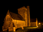 St Winifreds Church Illuminated