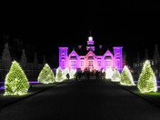 Blickling Hall Christmas lights