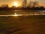 Sunset at Flatford