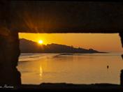 Woodhill Bay sunset