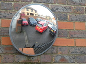 Car parking mirror