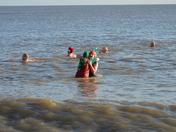 Christmas Swim at Southwold