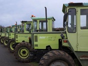 Boxing Day tractor run at larling