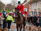 Boxing Day hunt Wymondham Market Cross