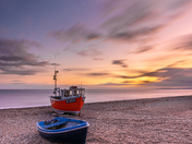 Branscombe Pink Sunset