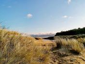 Holkham beach on a sunny winters day