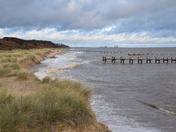 Lowestoft skies and beaches/