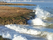 Waves at Shotley Peninsula.(Challenge)