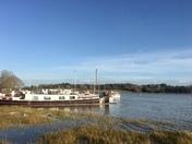 High water at Woodbridge
