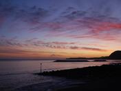 Sidmouth Winter Sunset
