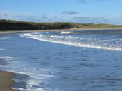 Eccles beach.