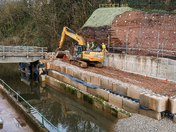 Making progress with the new Alma Bridge in Sidmouth