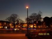 Exmouth strand at dusk