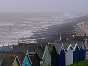Storm Ciara at Felixstowe!