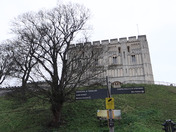 Windy Day on Castle Meadow, Norwich.