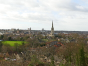 VIEW OF CITY AND CATHEDRAL FROM KETT'S HEIGHTS