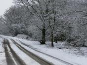 SNOWFALL AT FAKENHAM ON 10.2.20