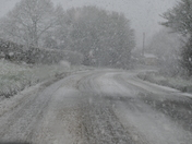 SNOWFALL AT FAKENHAM ON 10,2,20