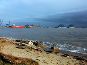 The view from Shotley