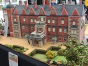Knitted model of Sandringham by Margaret Seamen