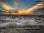 Hunstanton waves
