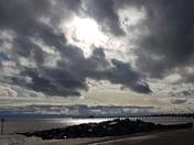 Stormy Skies in Felixstowe