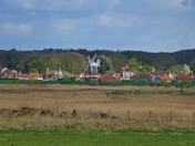 CLEY WINDMILL VIEW  FROM BLAKENEY
