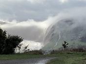 Sea mist over peak hill