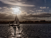 Sailing On the River Exe at Topsham