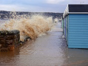 High Tide at Royal Sands.