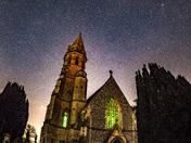 Starry Framingham Pigot church.