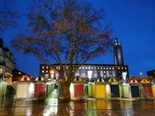 City Hall by twilight