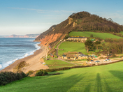 Spring Morning at Branscombe Mouth