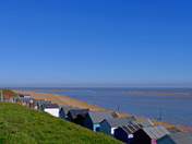 We try and walk or bike while we can around Felixstowe.