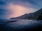 Cromer beach looking towards Mundesley